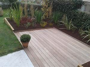 awesome terrasse bois design ideas lalawgroupus With amazing amenagement terrasse et jardin photo 0 dessin terrasse galaxy jardin