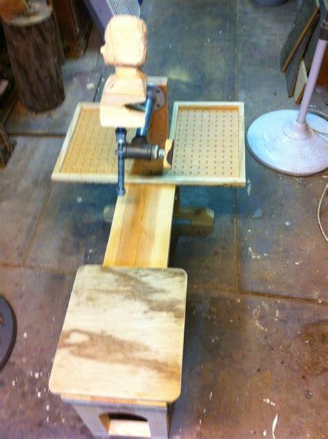 wci portable carving bench  mpounders  lumberjocks