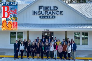 Independent insurance agency serving the myrtle beach, charleston, & hilton head areas. Field Insurance Agency: Personal & Commercial Insurance   Myrtle Beach, South Carolina