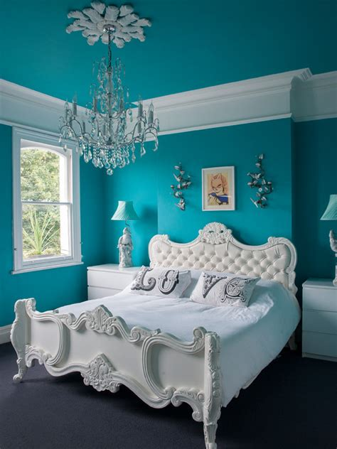 turquoise wall paint called   royal color homesfeed