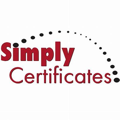 Certificates Simply Gift