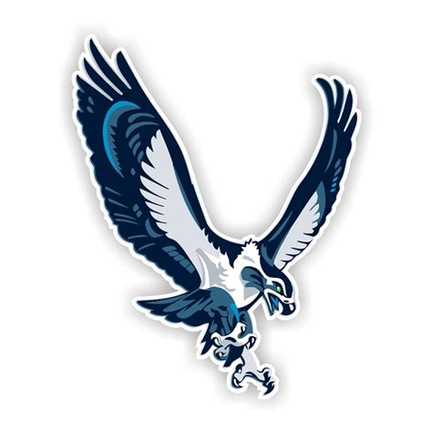 seattle seahawks mascot die cut decal  sizes