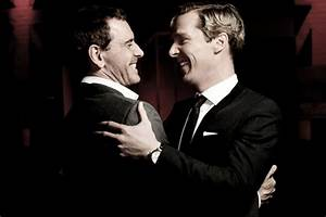 Michael Fassbender and Benedict Cumberbatch at BIFA last ...