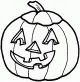 Pumpkin Coloring Pages Halloween Printable sketch template