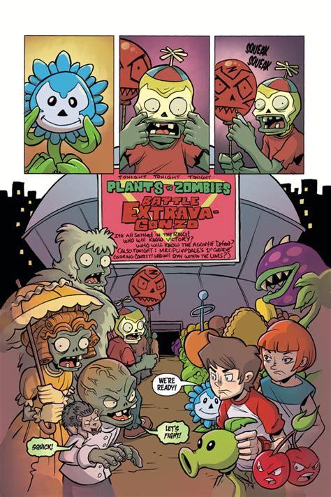 zombies plants vs battle volume comics hc profile books horse dark