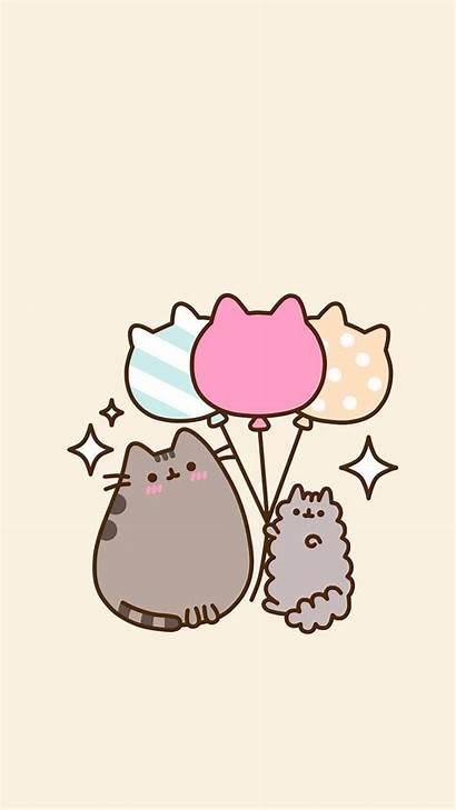 Pusheen Wallpapers Kawaii Cat Cartoon Phone Things