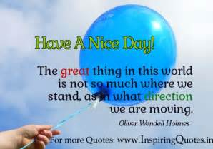 Have a Good Day Quotes Inspirational