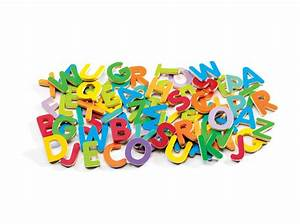 djeco 83 magnetic uppercase letters With extra large magnetic letters