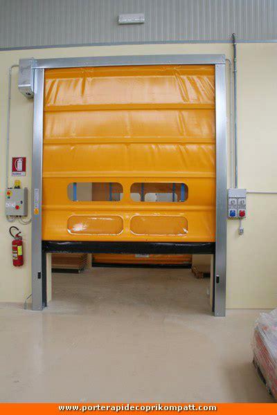 Porta Avvolgibile by Realizzazioni Porte Rapide In Pvc Chiusure Industriali