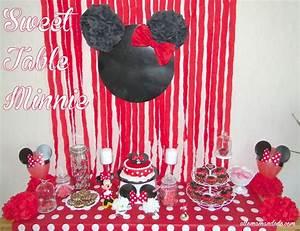 Décoration De Table Anniversaire : un anniversaire minnie la d coration de la sweet table de ~ Melissatoandfro.com Idées de Décoration