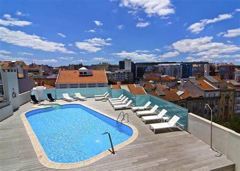 hotels  lisbon  rooftop pools
