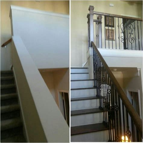 opening  staircase staircase remodel