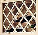 omega national products wrlma omega national    wine bottle lattice panel