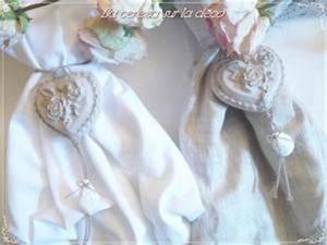 Embrasse Rideau Design : embrasse rideau coeur de rose pampille par melle cereza ~ Teatrodelosmanantiales.com Idées de Décoration