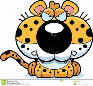 Cartoon Leopard Angry Stock Vector - Image: 47475379