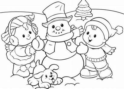 Winter Coloring Pages Printable Everfreecoloring