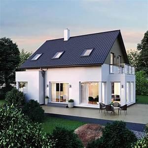 Modernes Haus Satteldach : einfamilienhaus elk haus 123 modern mit satteldach elk ~ A.2002-acura-tl-radio.info Haus und Dekorationen