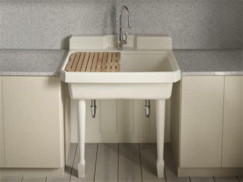 Kohler Utility Sink Stand by Kohler Sinks Utility Room Images
