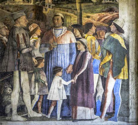 mantegna degli sposi degli sposi centro guide mantova i gonzaga