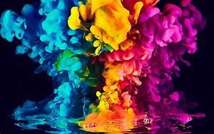 Download, Wallpapers, Bright, Colorful, Smoke, 3d, Smoke