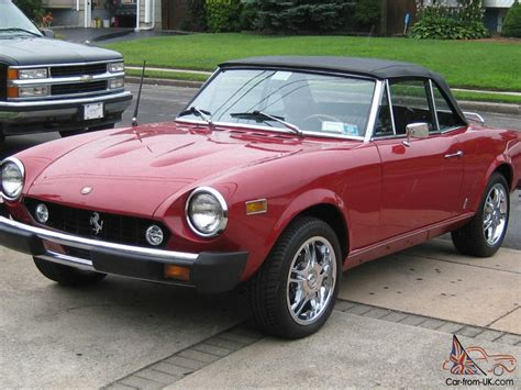 1974 Fiat Spider by 1974 Fiat 124 Spider Convertible Mint Condition