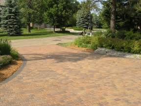 Concrete Driveway with Pavers