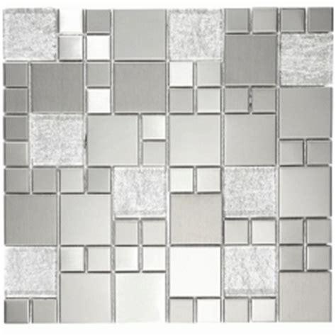 metallic random mosaic tiles
