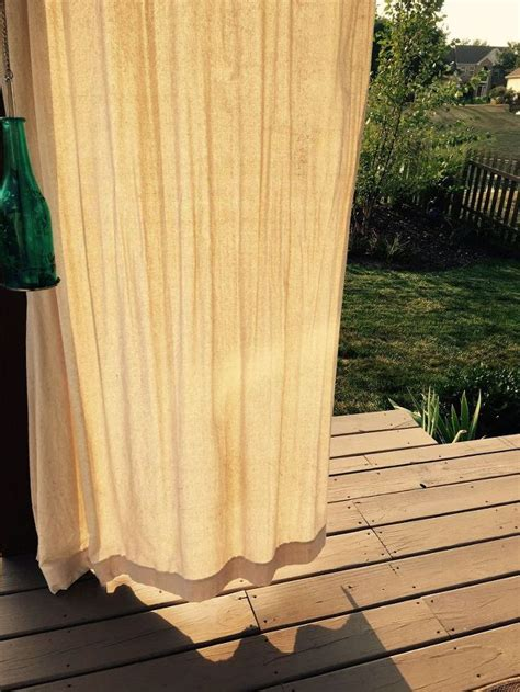 weights for outdoor drapes hometalk
