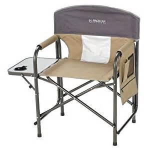 directors outdoor folding chair with side table magellan outdoors director