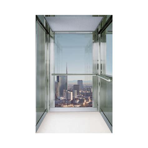 cabina ascensore cabina ascensore in acciaio atena cristallo trasparente