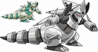 Aggron Mega Deviantart Pokemon Smogon Evolution Ou