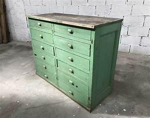 Petit Meuble à Tiroirs : ancien petit meuble de m tier 12 tiroirs patine d 39 origine ~ Edinachiropracticcenter.com Idées de Décoration