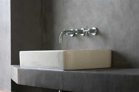 beton ciré cuisine plan travail béton ciré decorateur caen salle de bain cuisine sol
