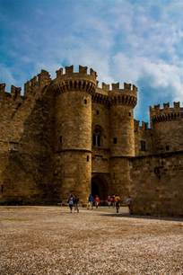 The Knights of Rhodes Greece Castle