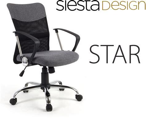 siège de bureau ergonomique avec support du dos tilt gris conforama