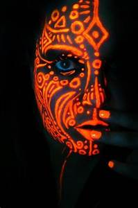 1000 images about Black Light Face Painting on Pinterest