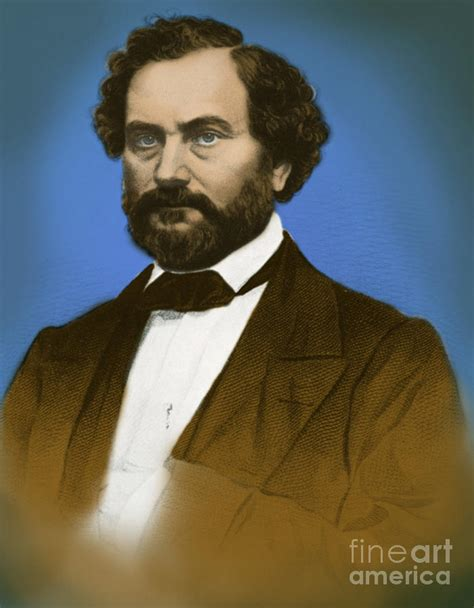 Samuel Colt, American Inventor Photograph by Science Source