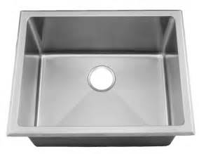 24 near zero radius topmount or undermount stainless steel single bowl utility laundry sink