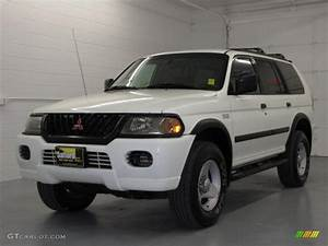 Sport 2000 Gray : 2000 alpine white mitsubishi montero sport ls 4x4 17200467 car color galleries ~ Gottalentnigeria.com Avis de Voitures