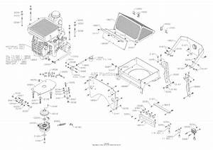 Dixon Kodiak Diesel 52  2006  Parts Diagram For Engine