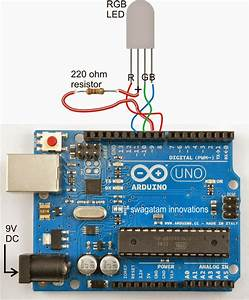 Arduino Rgb Flowing Sequential Light Circuit