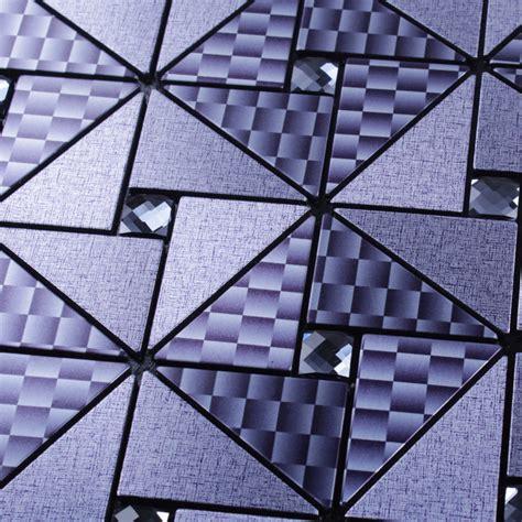metal glass tile peel and stick wall tiles
