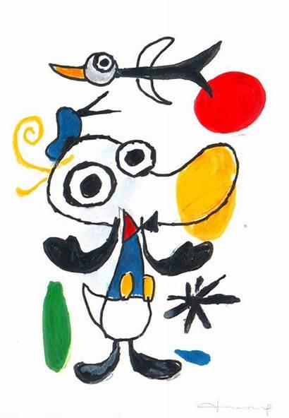 Joan Miro Google Arama Fernandez Duck Tony