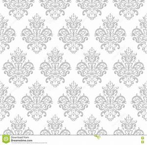 gray seamless repeating vector pattern stock vector With repeating timer no2