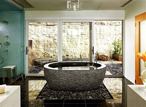 Gorgeous Use Of Natural Pebbles Under The Standalone Hammock In Bedroom 2 Suites New Orleans Decoration Games Gothic Decor How To Design Your Bathroom Train Themed Bath House Plans Furniture Walmart