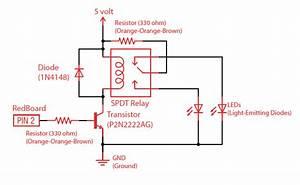 Fritzing Project  U2013 Relay Test Circuit  N O    N C