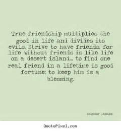 Good Friendship Quotes True Friend