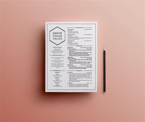 10 beautifully designed resumes for inspiration freshgigs ca