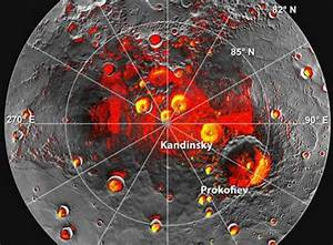 MESSENGER Takes First Images of Ice Near Mercury's North ...