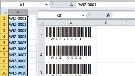 BARCODE FONT 128A - Free Barcode Font Download | All Barcode